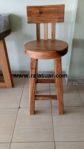 Bar Chair Trembesi Antik